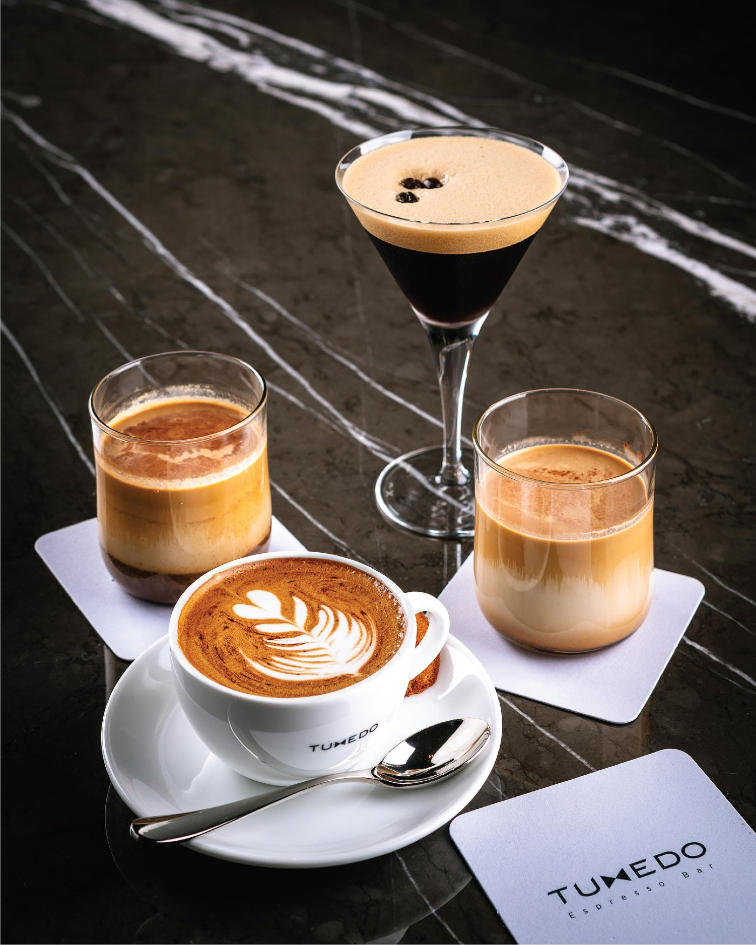 Tuxedo Espresso Bar Menu